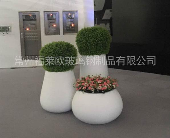 室内装饰玻璃钢花盆