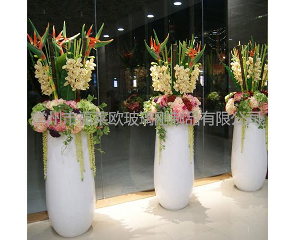 装饰玻璃钢花盆组合