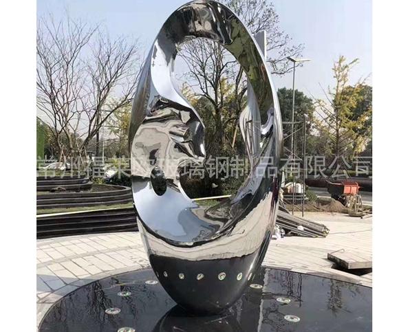 不锈钢户外雕塑
