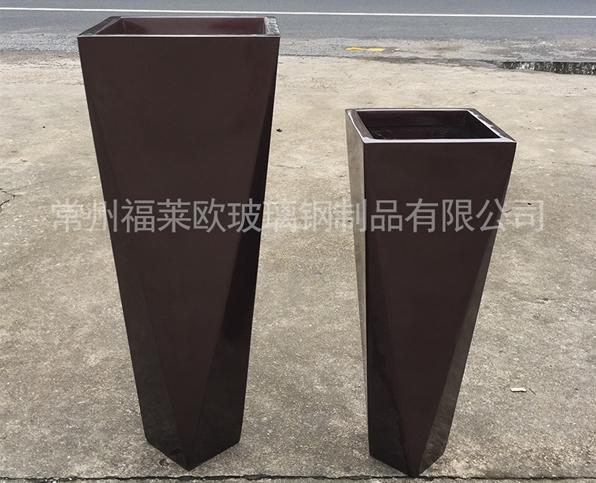 多边形玻璃钢花盆