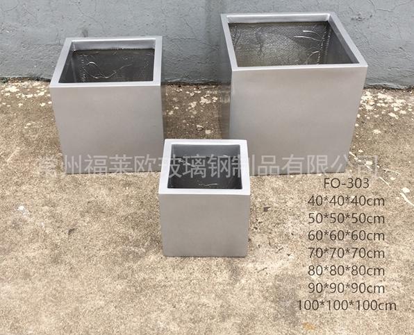 正方形玻璃钢花盆