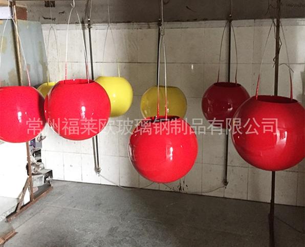 球形玻璃钢花盆
