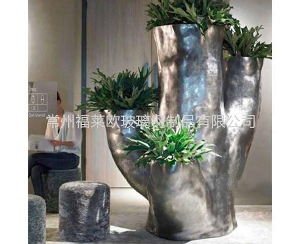 玻璃钢树桩雕塑